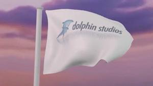dolphin-flag-logo