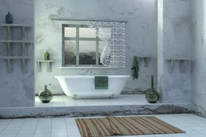 bathroom-green