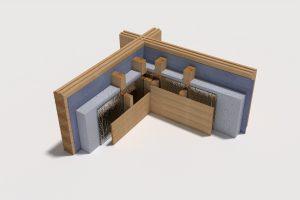 log-wall